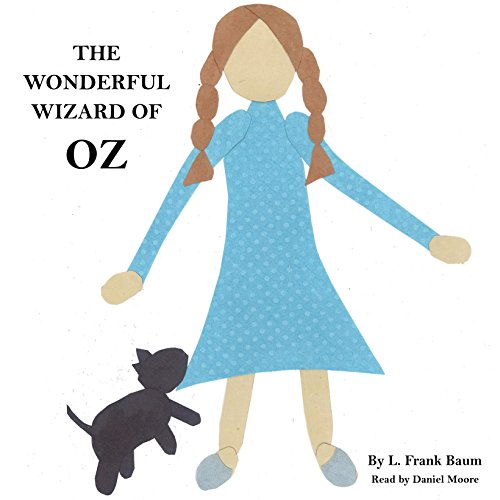 L. Frank Baum's Wonderful Wizard of Oz audiobook cover art
