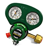 Victor Medium Duty Oxygen Regulator w/Metal Gauge Guard, G250-150-540 1429-0068
