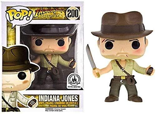 ZSDD Indiana Jones Films - 3.9 Regalos coleccionables exclusivos para ninos Figuras de Vinilo Figuras de Juguete