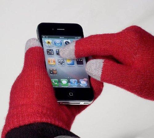 yayago Touchscreen Handschuhe Universalgröße (ca. S – M) – für Alcatel One Touch Go Play (7048X)