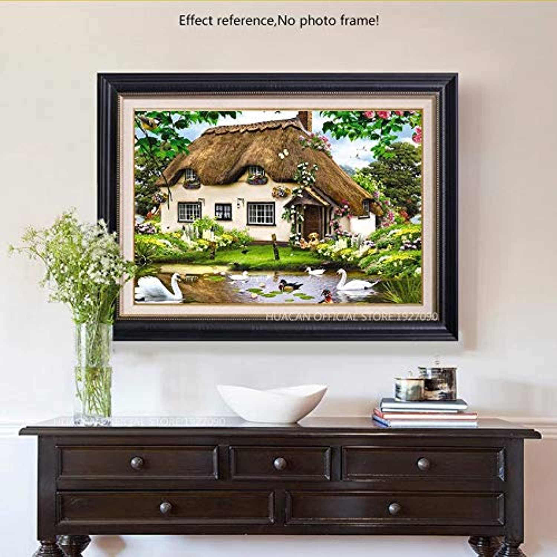 Diamond Painting Cartoon 3D Cross Stitch Diamond Embroidery Farm Full Decoration Home DIY 40X50 cm Frameless