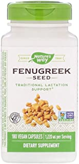 Nature's Way - Fenugreek Seed 180 caps