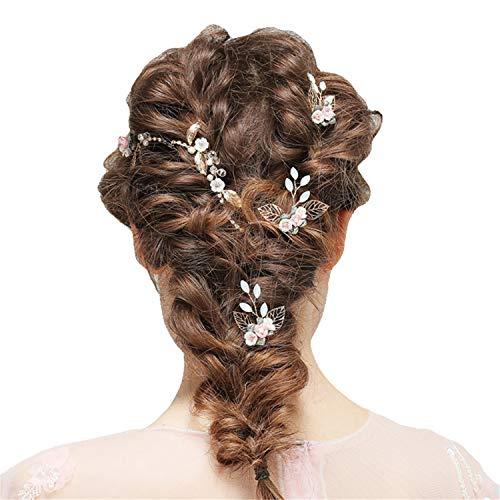 Tiara para novia, diadema de flores, accesorios para el pelo