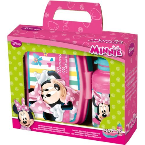 Disney - 830109 - Minnie - Set Sport Gourde + Boîte Sandwich