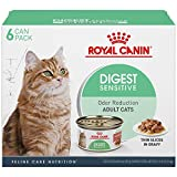 Royal Canin Digest Sensitive Thin Slices in Gravy Wet Cat Food, 3 oz. can, 6-pack