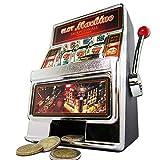 Monsterzeug Slot Machine Spardose - Einarmiger Bandit Spielautomat mit Sound und Licht, Kreative...