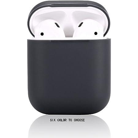 Airpods Hülle Teyomi Schutzhülle Aus Silikon Mit Sportgurt Für Apple Airpods Ladetasche Kompatibel Mit Apple Airpods 2 1 Schwarz Elektronik