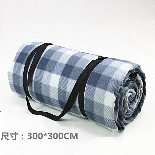 MONEYY The Picnic mat red and white format outdoor portable moisture pad tent picnic the picnic camping mats 300*424cm