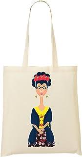 1GD Frida Kahlo Woman Sac Fourre-Tout Sac /À Provisions