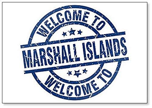 Welkom bij Marshall Islands Classic Koelkast Magneet
