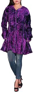 velvet patchwork coat ~ M  size ~ mid length ~ Dark Star Jordash