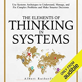 The Elements of Thinking in Systems cover art