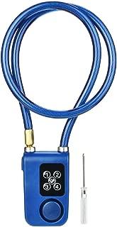 TYewa98556 Waterproof Anti-Theft Bluetooth Smart Password Lock Bike Door Alarm Padlock