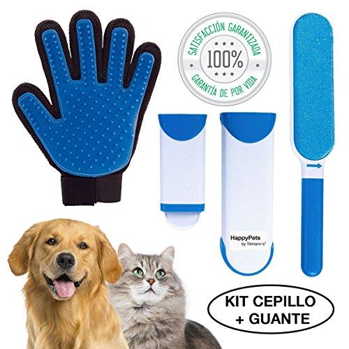 HappyPets Quita Pelos Gato - Perro - Mascotas | Cepillo Recoge Pelos | Atrapa Pelos Del Sofa O La Ropa | Quitapelos Pet Hair