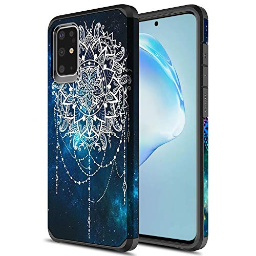 Samsung Galaxy A51 Case, Sofer Hybird Drop Protection Sleek Slim Dual Layer Shockproof Colorful Graphic Armor Case for Samsung Galaxy A51 (Galaxy Mandala)