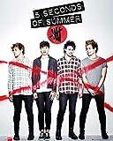 5 Seconds of Summer - Album Cover Mini Pop Musik Band