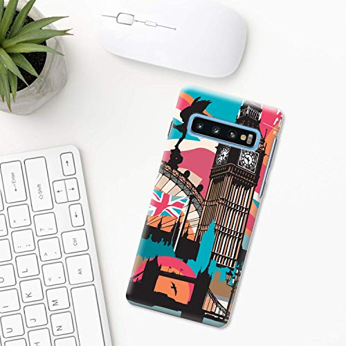 Big Ben Hülle Samsung Galaxy S10 Plus S10e S9 S8 S7 edge S6 S5 note 8 9 10 Pro 5 Uhr Stadt london Turm Glocke Glockenspiele