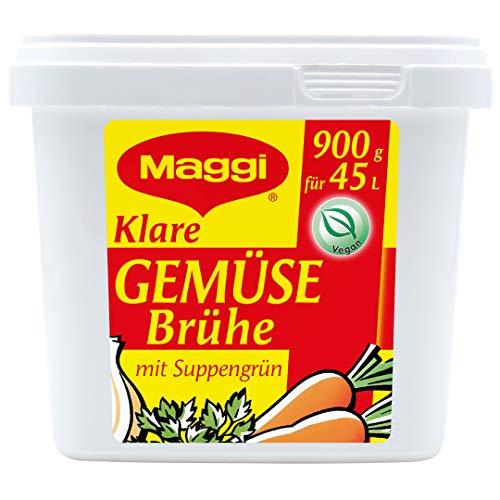 Maggi Klare Gemüsebrühe, vegan, 6er Pack (6 x 900g Gastro Box)