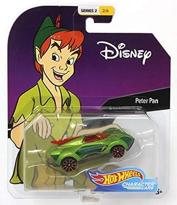 Hot Wheels Character Cars Disney Peter Pan Vehicle Series 2 2/6