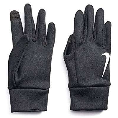 Nike Adult Thermal Running Gloves (Black(N1000723082-001), Large)