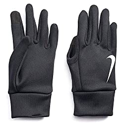 in budget affordable Nike Thermal Running Gloves for Adults (Black (N1000723082-001) Medium)