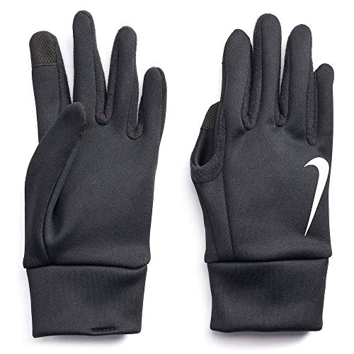 Nike Adult Thermal Running Gloves (Black(N1000723082-001), Large)