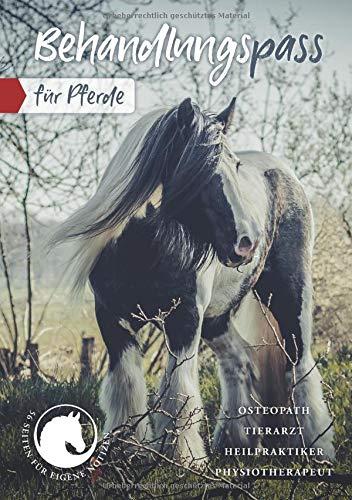 Behandlungspass Tier: Pferd