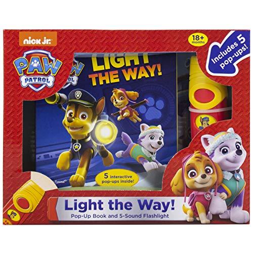 Paw Patrol Light the Way Flashlight Adventure Box (Play-A-Sound)