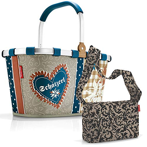 reisenthel carrybag mit Zugabe Einkaufskorb Einkaufstasche Korb (Bavaria 4)