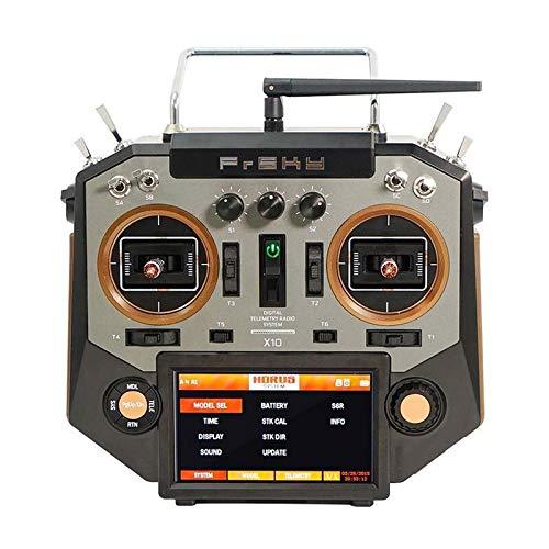 Wchaoen X10 16 canali RC Drone modalità trasmettitore 2 Mano Sinistra della valvola a Farfalla del Nastro & Colore Ambra Accessori per Utensili (Color : Amber)
