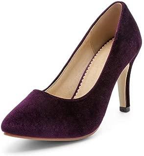 BalaMasa Womens APL12281 Pu Heeled Sandals