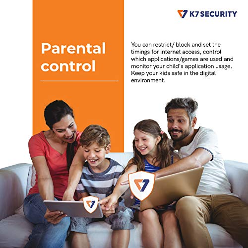 K7 Total Security - 1 PC's, 1 Year (Email Delivery in 2 hours - No CD) 4