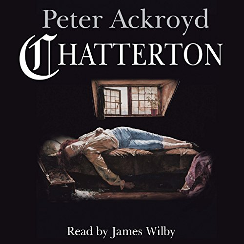 Chatterton audiobook cover art