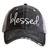 Blessed Women's Trucker Hats Caps by Katydid Pink
