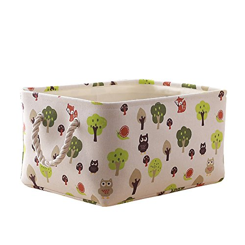 TcaFmac Small Basket,Fabric Storage Basket for Gifts Empty,Basket for Organizing,Decorative Basket,Small Storage Basket, Basket for Storage,Canvas Storage Basket,Dog Toy Basket 12 x 8 x 5 inch