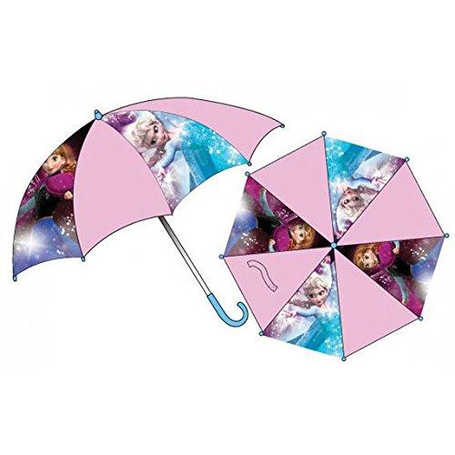 DISNEY FROZEN - DIE EISKÖNIGIN Regenschirm Kinderschirm Stockschirm Anna & Elsa