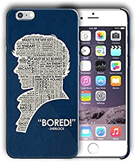 Hard Case Cover with Sherlock Holmes design for Iphone models (sher3) (Iphone 5 5s SE)