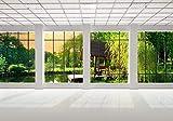 wandmotiv24 Fototapete Fenster Fensterblick 3D XXL 400...