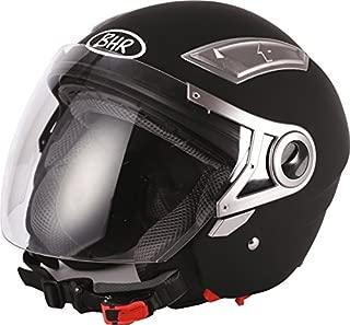 Moto BHR Demi-Jet Helmet Mod Special 710/Black and White Cool Line XL multi-coloured