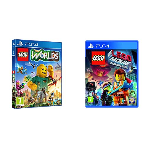 Warner Bros Lego Worlds PlayStation 4 & The LEGO Movie Videogame PS4