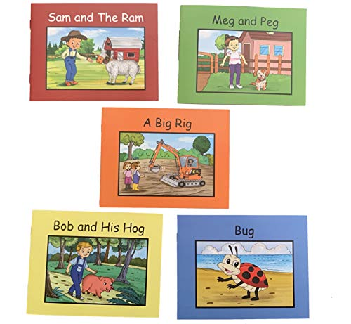 5 Book Pack to add on to Phonetic Reading Blocks