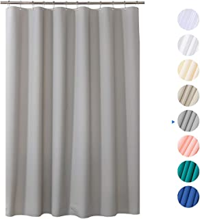 Amazer Shower Curtain 72 X Grey EVA 8G Mildew Resistant Thick Bathroom