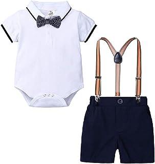 Hooyi Conjunto de 2 piezas de ropa para bebé niño