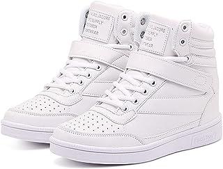 Toride Femmes Baskets Montantes Chaussures Talon caché Mode Chaussures de Sport décontractées Printemps Automne Hauteur Ba...