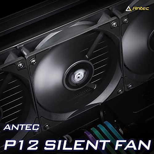 Antec Computer Fans, PC Fans, 120mm Case Fan High Performance, 3-pin Connector 120mm Fan, P12 Series 5 Packs