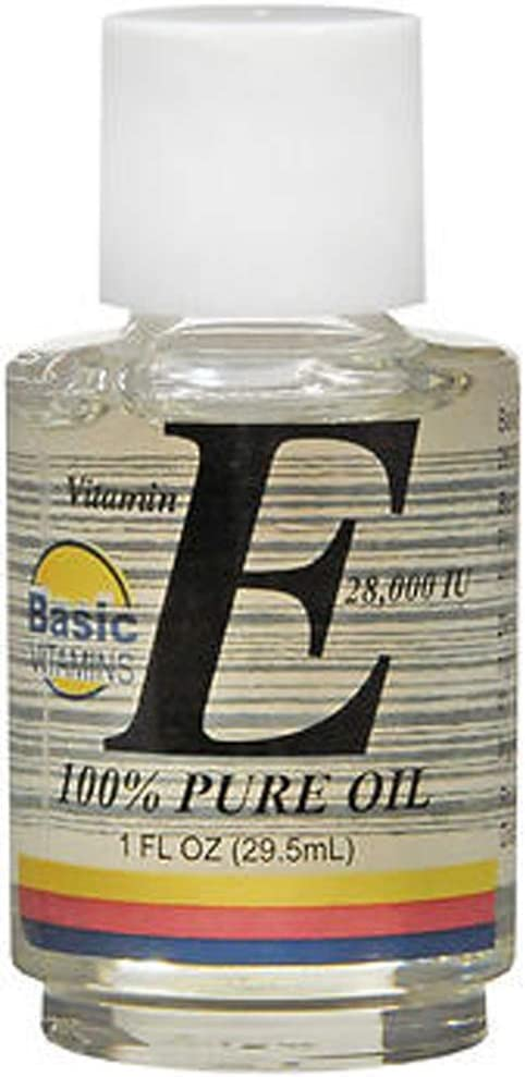 Basic Vitamins Vitamin low-pricing E Oil 28 000 Pack oz IU of 2 Free shipping - 1