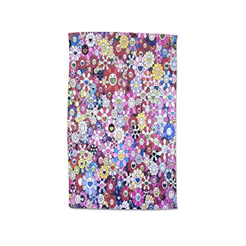 Takashi Murakami - Toalla para mujer, 100 % algodón, muy absorbente, suave, toalla de pareo, ducha, spa, sauna, playa, gimnasio, toalla