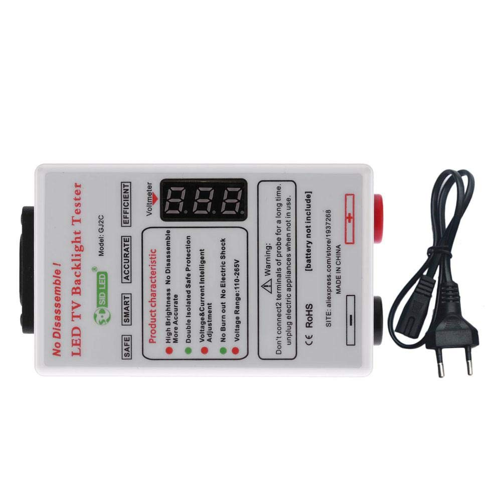 Darcylibisy Lámpara LED Y Comprobador De Luz De Fondo De TV para Todas Las Luces LED Salida De Reparación 0-320V: Amazon.es: Hogar