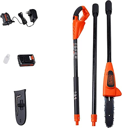 Black And Decker Pole Saw Review, LPP120 20V Lithium-Ion Pole Saw