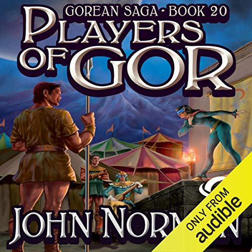 Players of Gor audiobook cover art